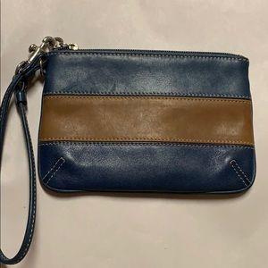 Coach wrist wallet
